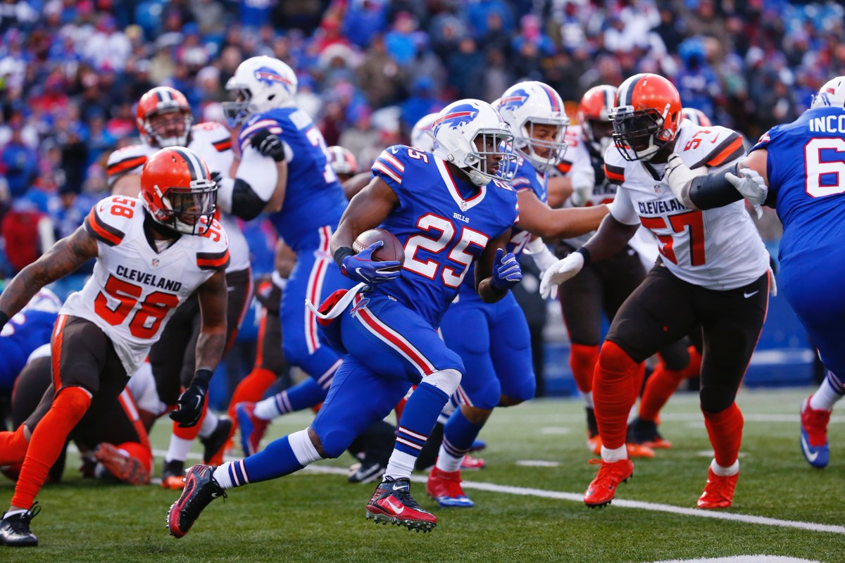 LeSean McCoy has a rooting interest in the competition to see who will become the Bills' next general manager. (Harry Scull Jr./Buffalo News)