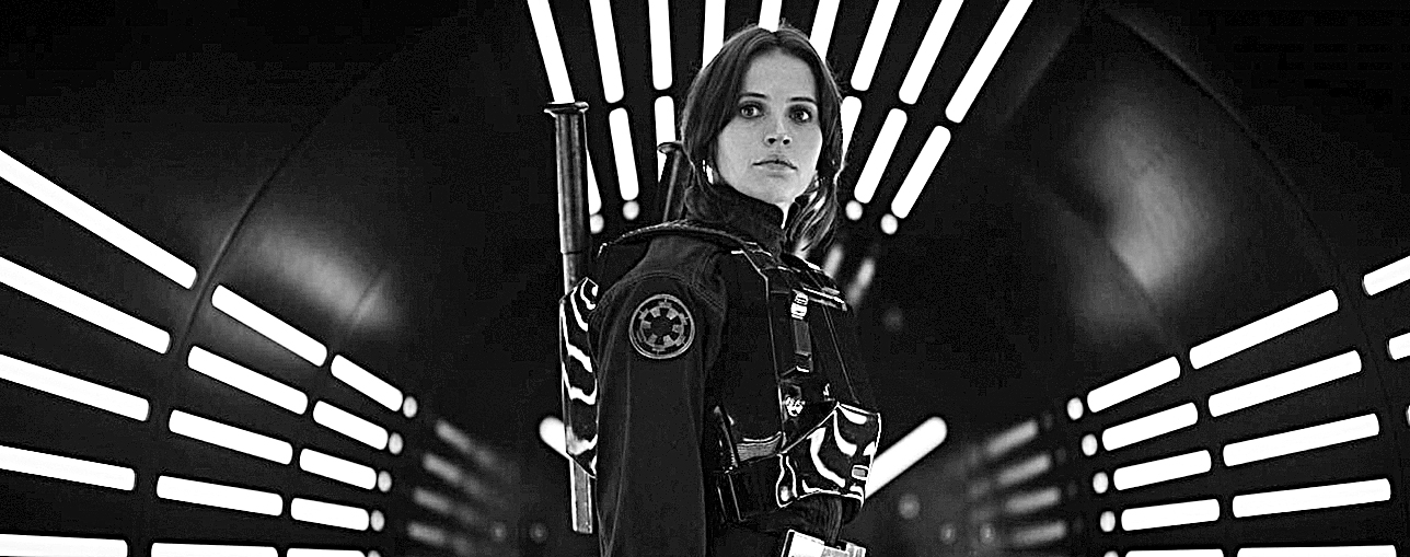 Felicity Jones as Jyn Erso in the film 'Rogue One: A Star Wars Story.' (Lucasfilm Ltd.)
