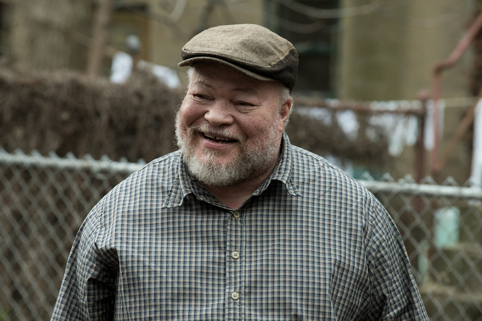 Stephen McKinley Henderson plays Jim Bono in Fences from Paramount Pictures. Directed by Denzel Washington from a screenplay by August Wilson.
