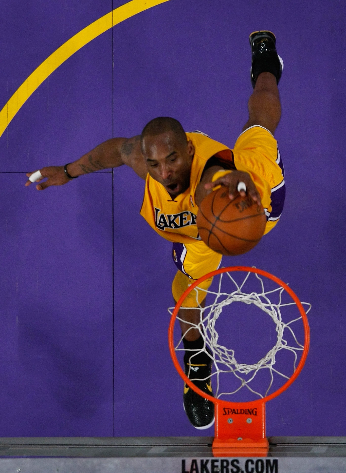 Not even the likes of Kobe Bryant settled into a zone as keen as Thompson's. (Getty Images).