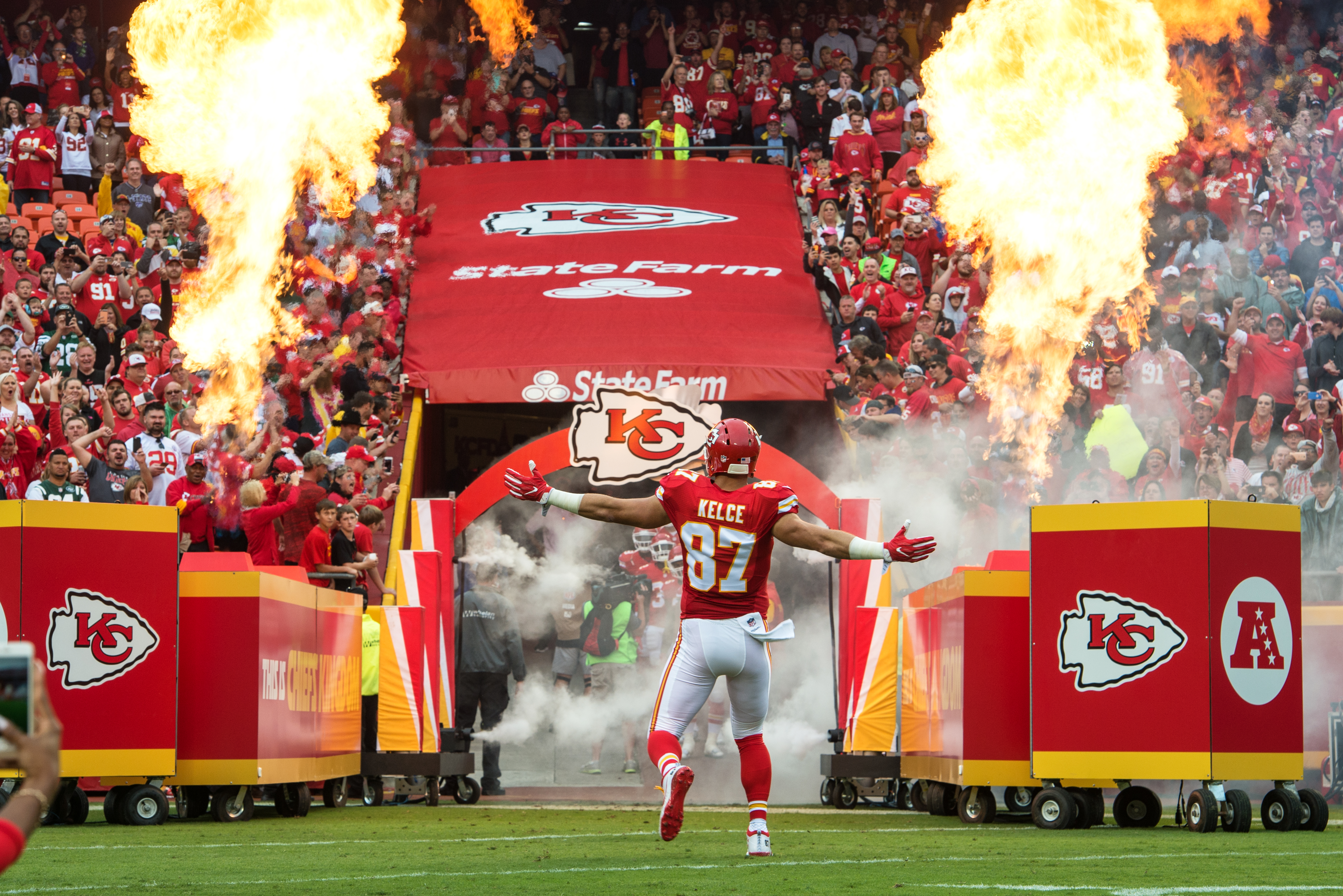 The Kansas City Chiefs and their fans can make life miserable for opponents visiting Arrowhead Stadium.