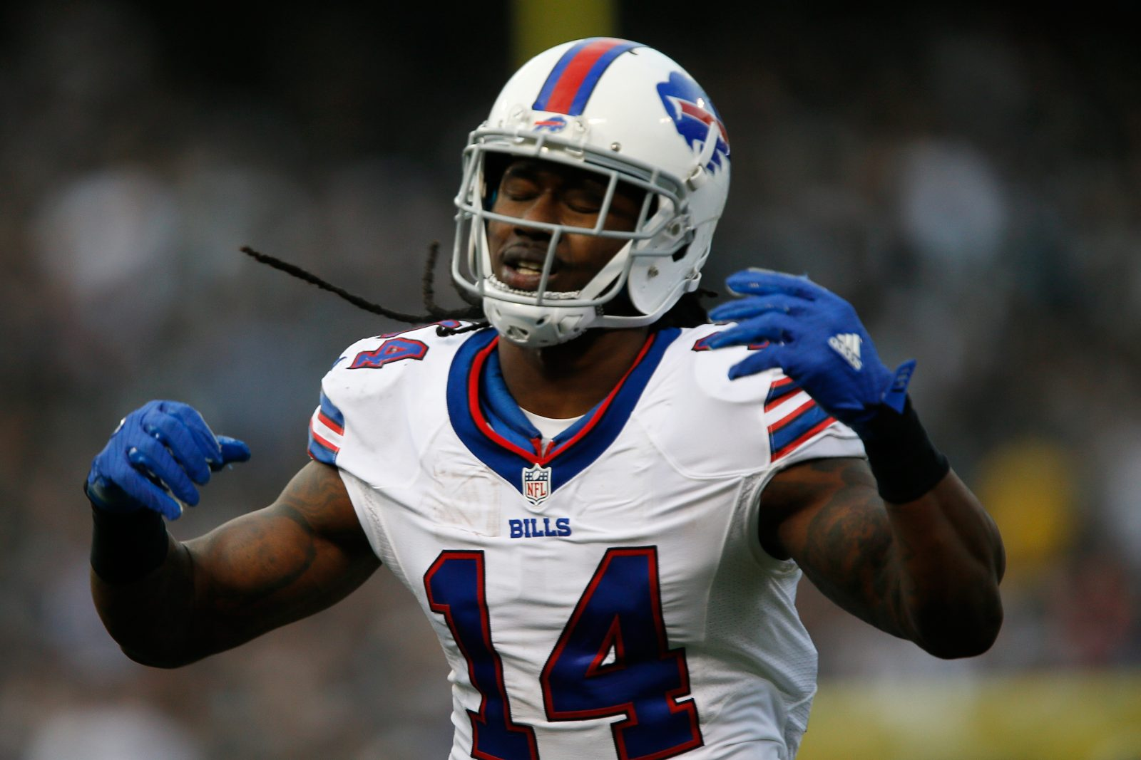 Sammy Watkins and the Buffalo Bills are facing a must-win situation Monday. (Getty Images)