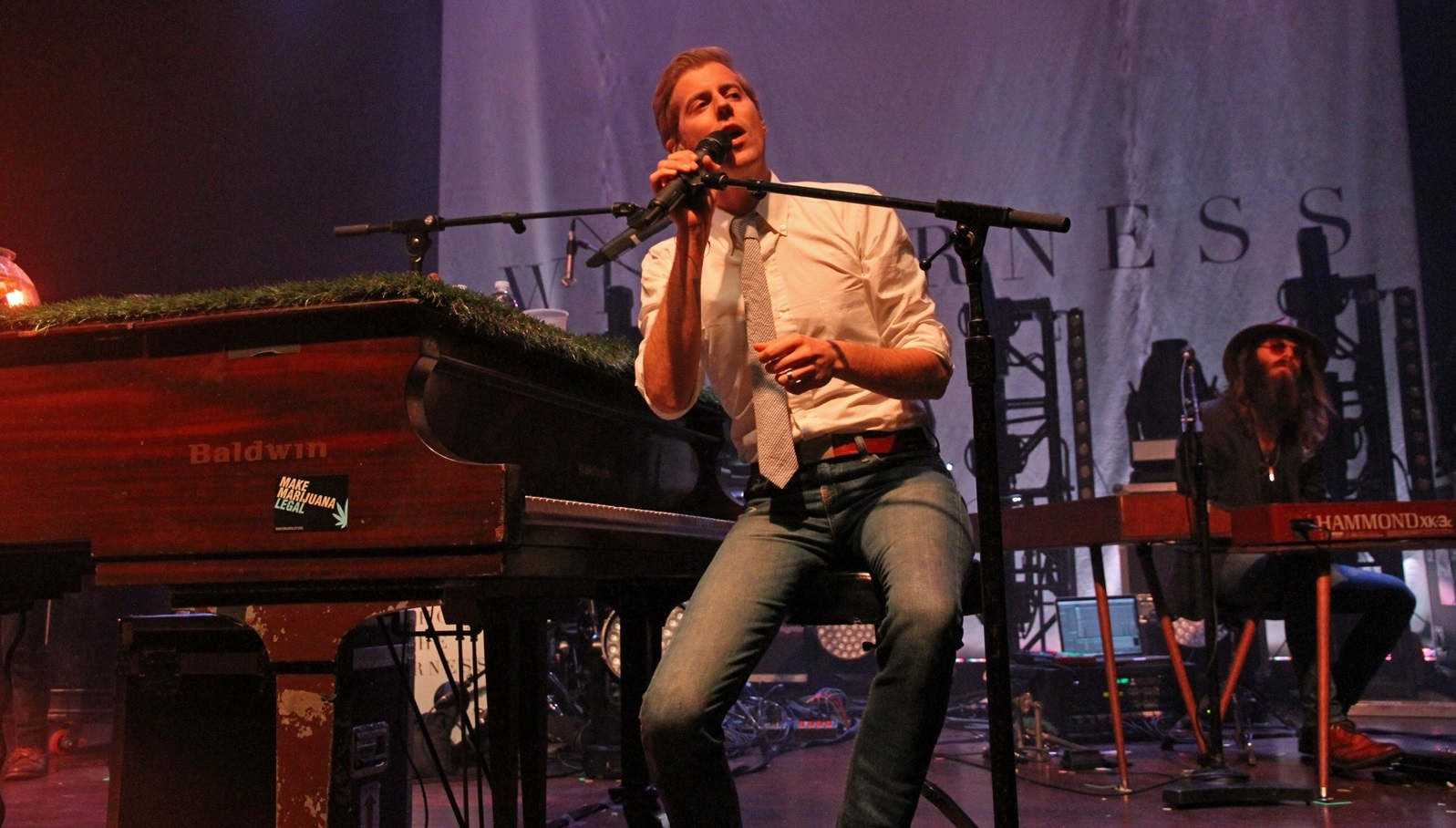 Andrew McMahon performs in November 2015 in Town Ballroom. (Erica Malinowski/Special to The News)