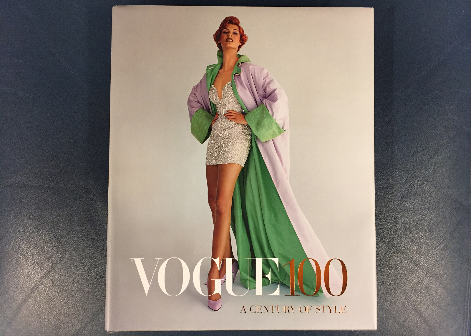 The cover of 'Vogue 100.'