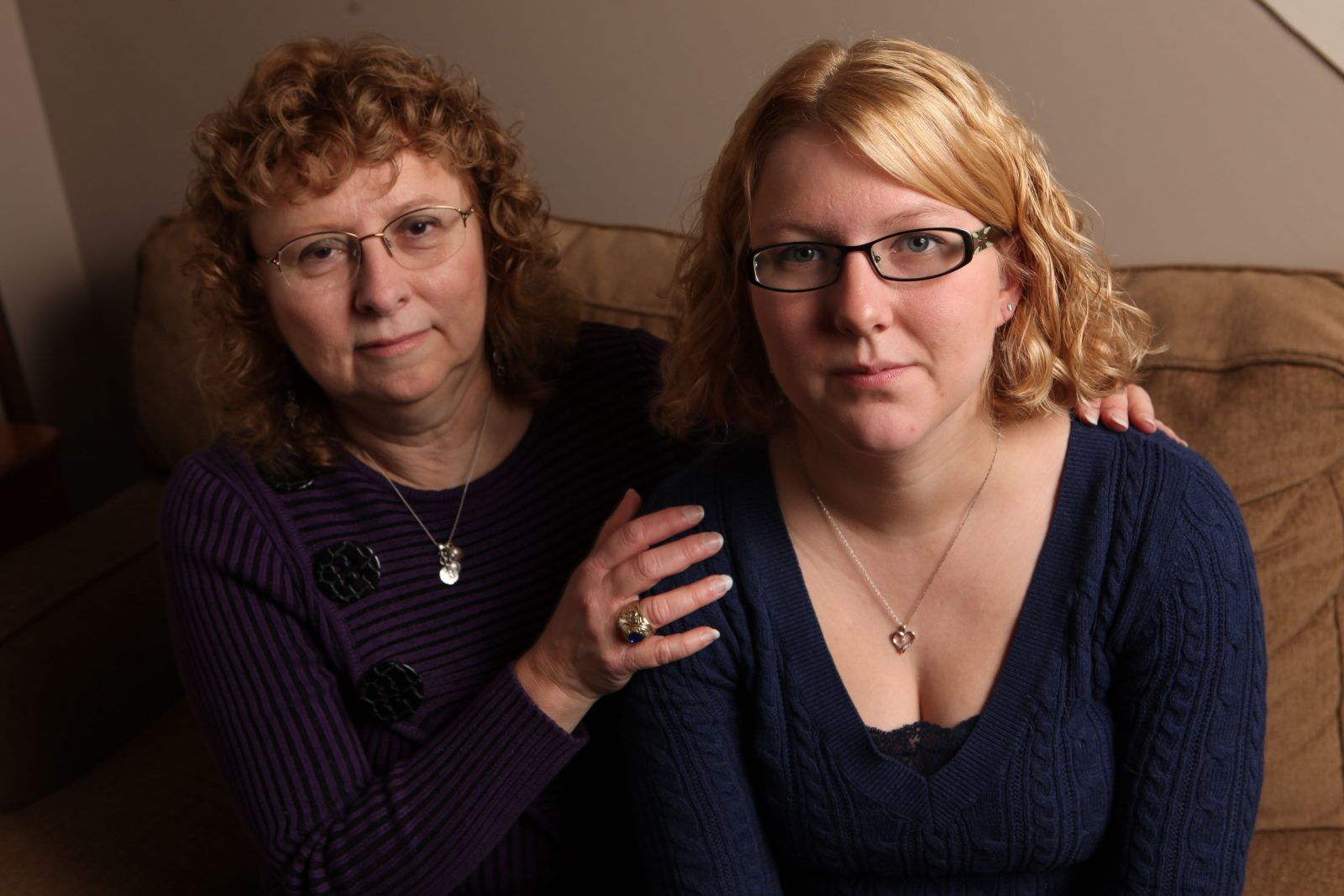 Karen Wielinski and her daughter, Jill Hohl. (News file photo)