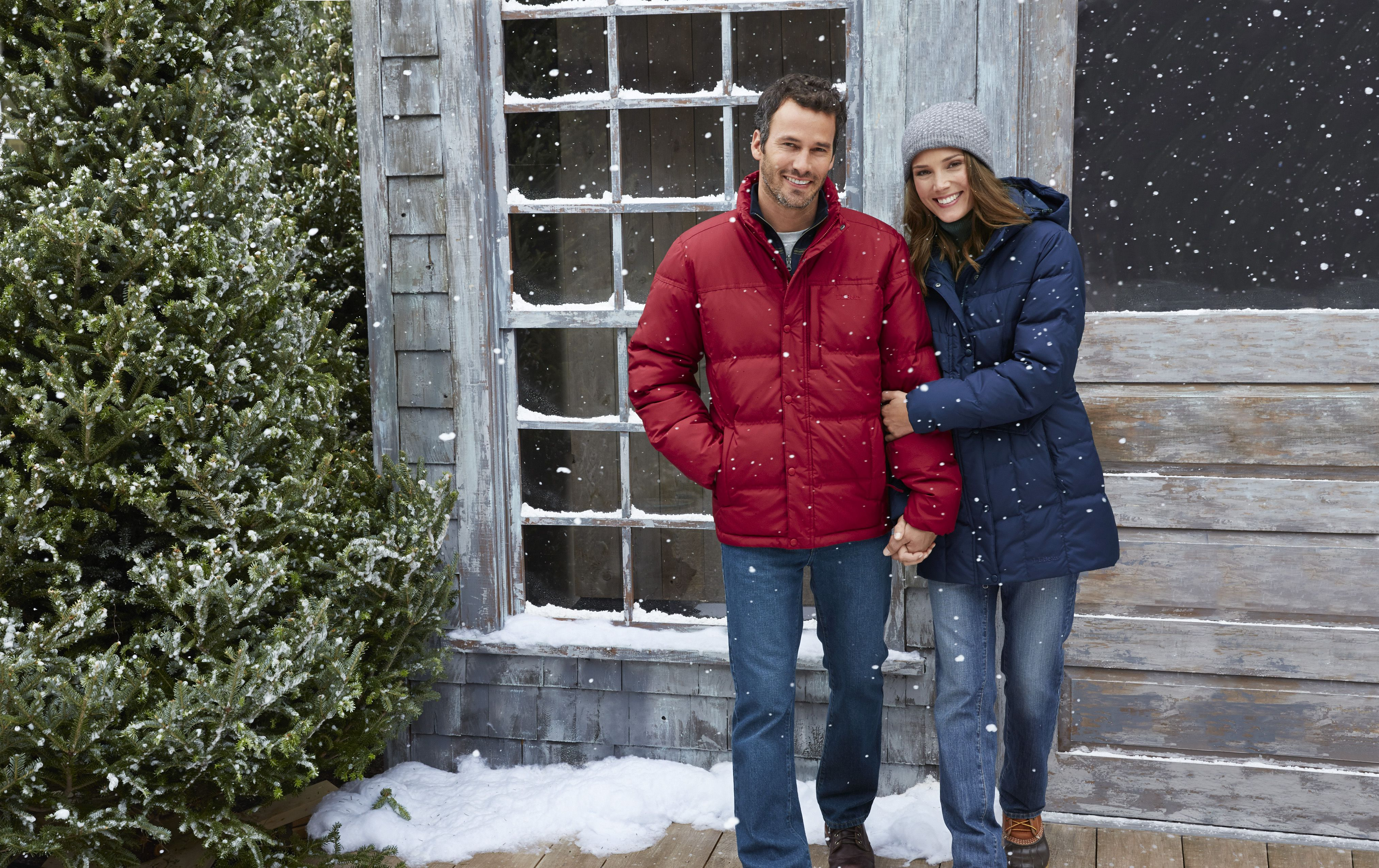 Trail Model down jackets are from L.L. Bean and are just two of the large variety of puffer coats, jackets and vests available this season.
