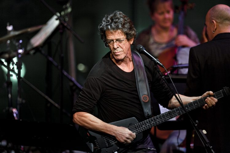 FILE -- Lou Reed performs during Lincoln Center's American Songbook series at in New York, Jan. 27, 2010. Reed, a musician known for his work with The Velvet Underground, died Oct. 27, 2013. He was 71. (Chad Batka/The New York Times)