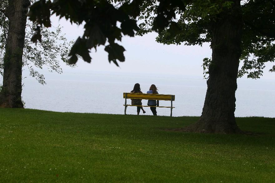 Krull Park at Olcott Beach is a popular recreation spot on Lake Ontario's Niagara County shoreline. (Buffalo News file photo)