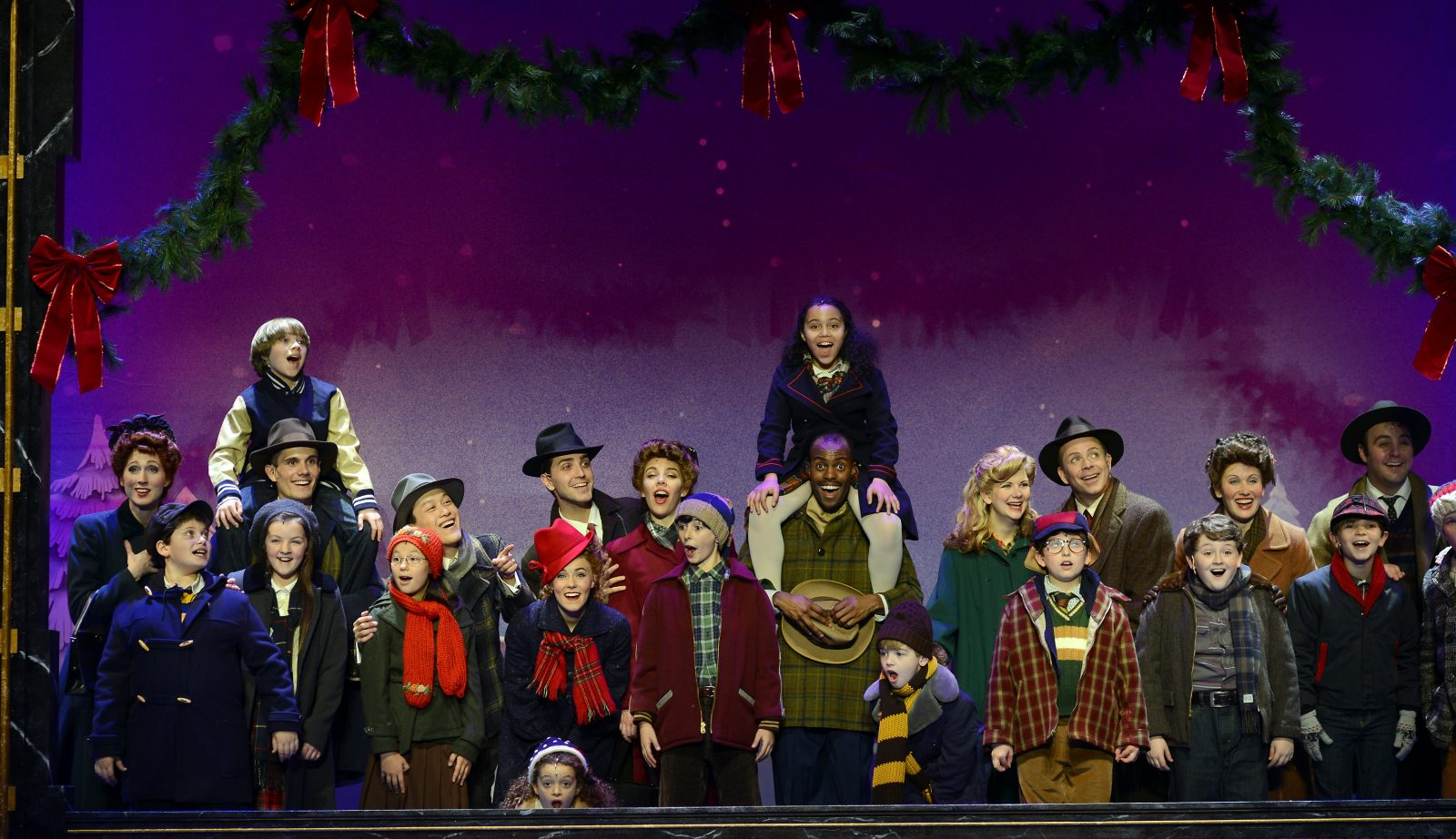 """A Christmas Story: The Musical"" plays through Dec. 18 in Shea's Performing Arts Center."