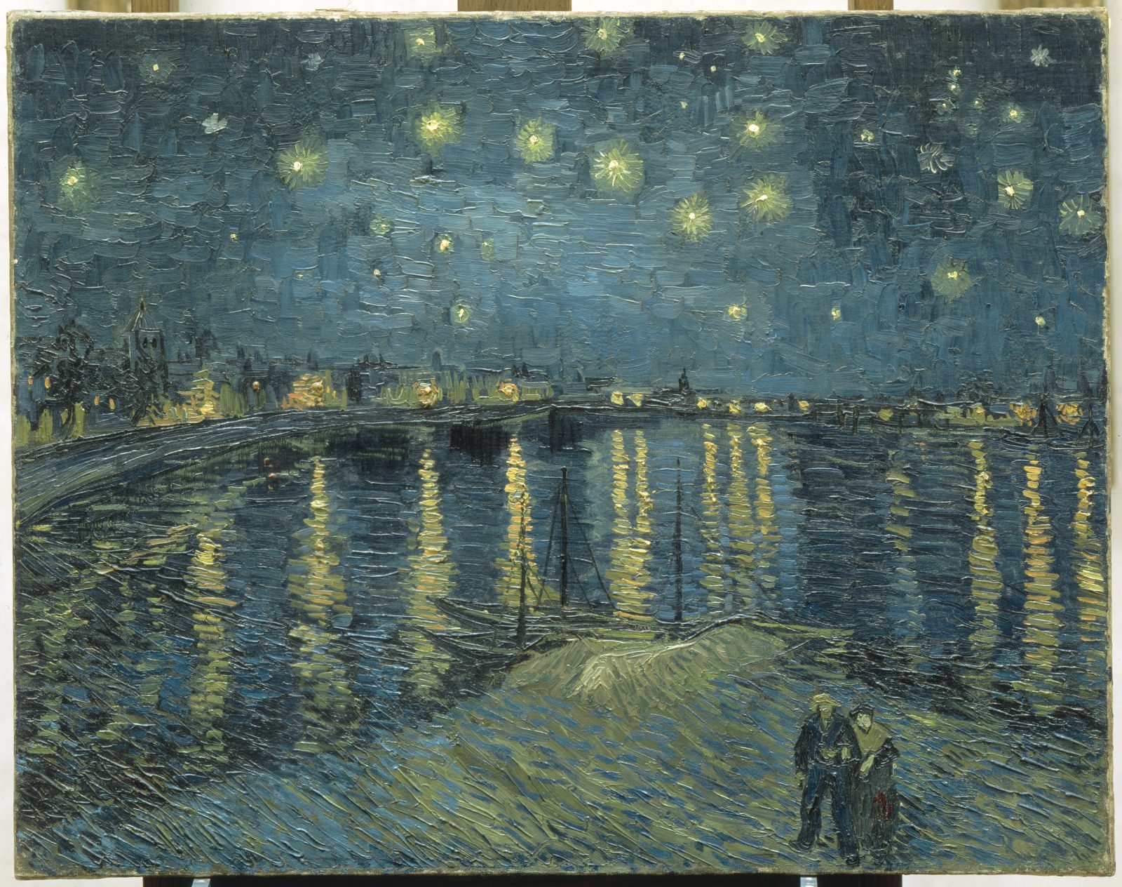 'Starry Night Over the Rhone at Arles' by Van Gogh is one of the pieces on display at the Art Gallery of Ontario in Toronto (Image courtesy of Art Gallery of Ontario)