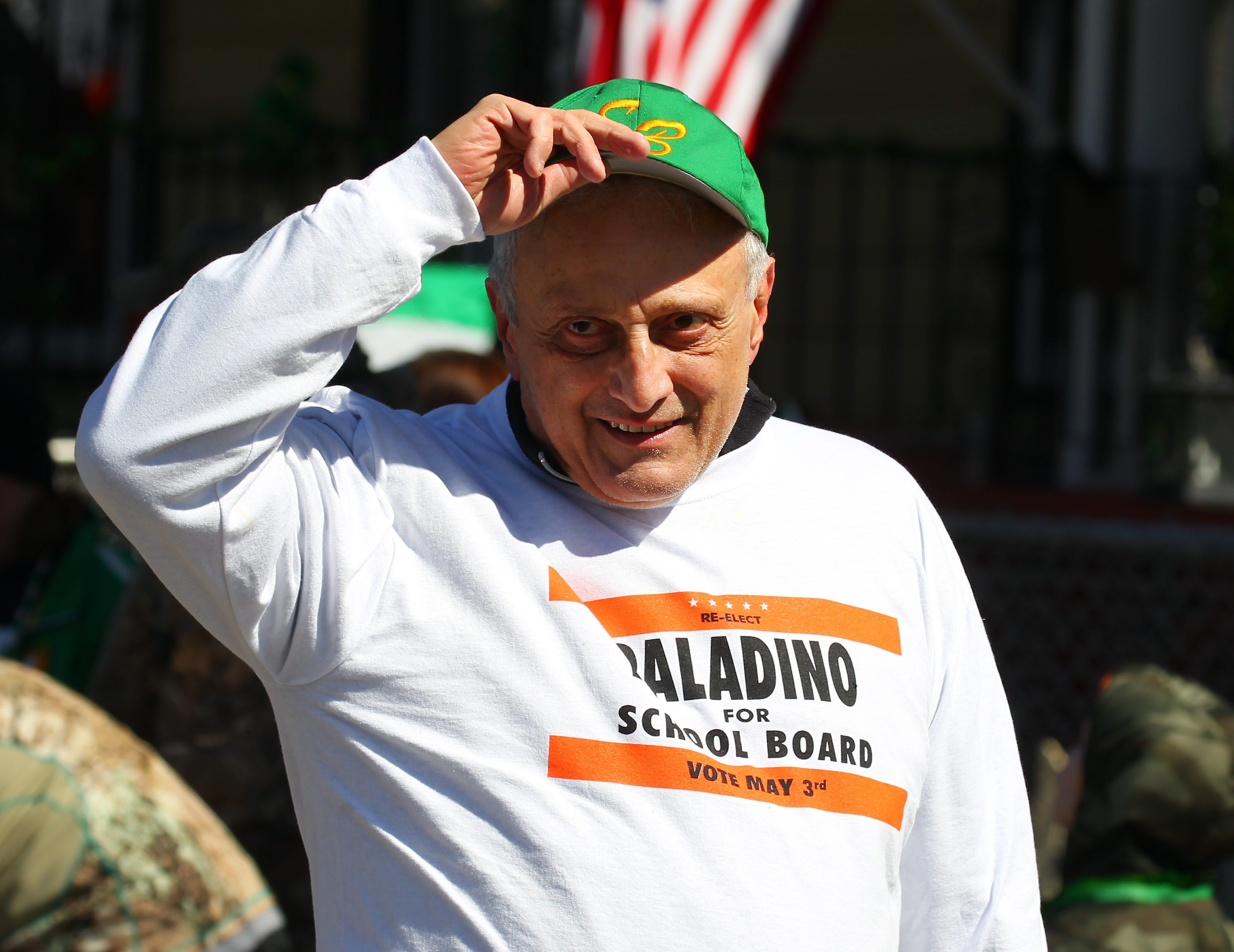 Local leaders are calling for Carl Paladino to resign or be removed from the Buffalo School Board. (Mark Mulville/Buffalo News)