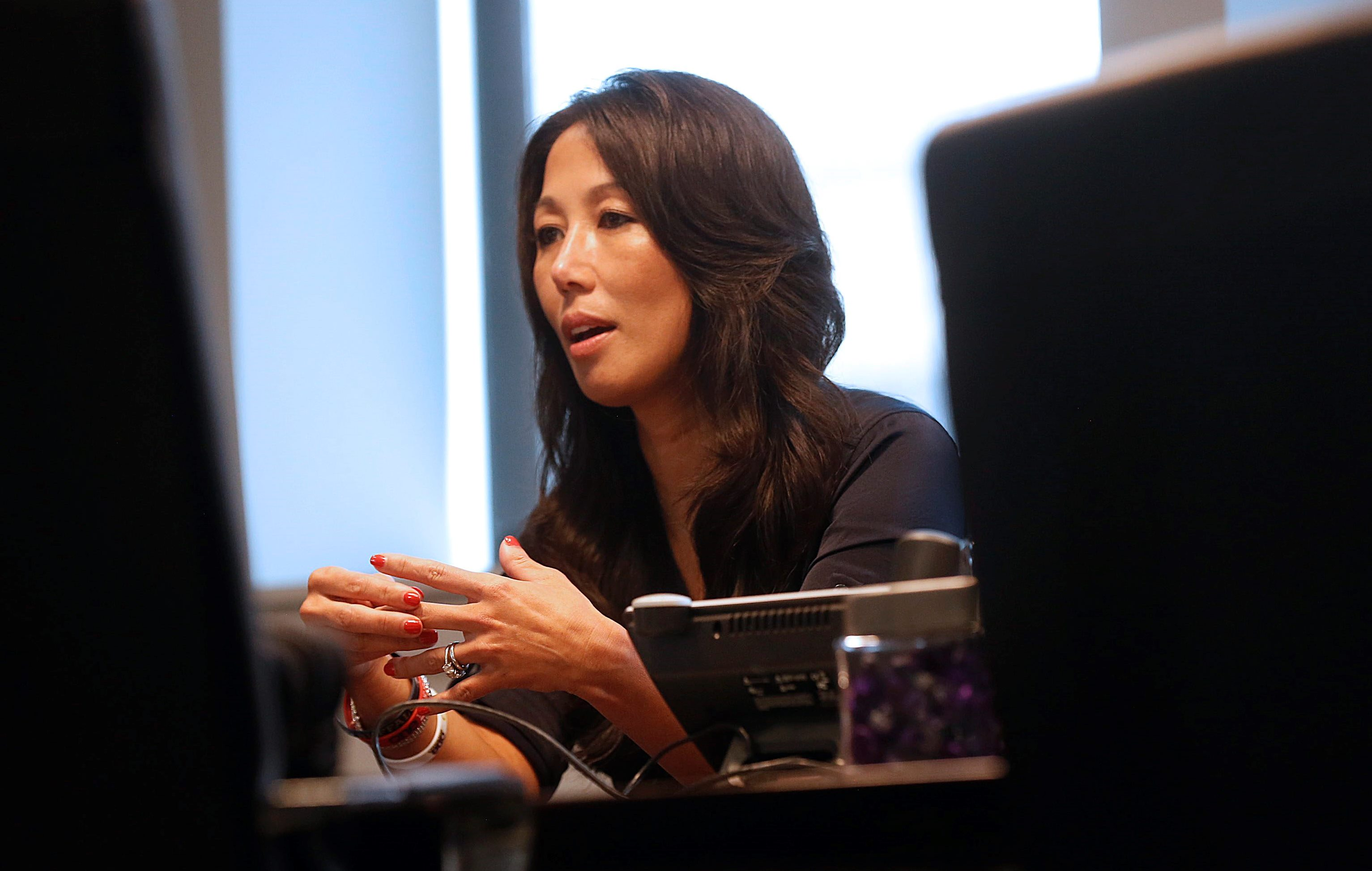 Kim Pegula said visitors who come to Buffalo and are regular users of ride-sharing services elsewhere complain about slow, expensive and sometimes unreliable taxi services. (Robert Kirkham/News file photo)