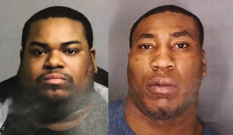 "Isaiah J. Pierce, left, 33, and Larry Willis, 31, were described as ""dangerous"" after their arrest by police following raids in Buffalo. (Erie County Sheriff's Office)"