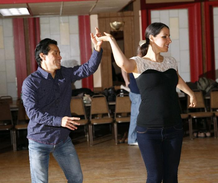 Learn swing dancing in the new year on Tuesday evenings. (Sharon Cantillon/Buffalo News file photo)