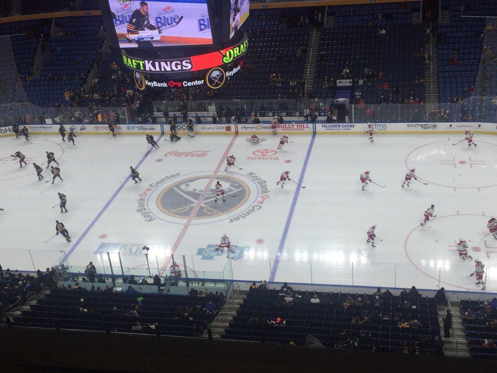 The Buffalo Sabres host the Carolina Hurricanes at KeyBank Center. (Mike Harrington/Buffalo News)