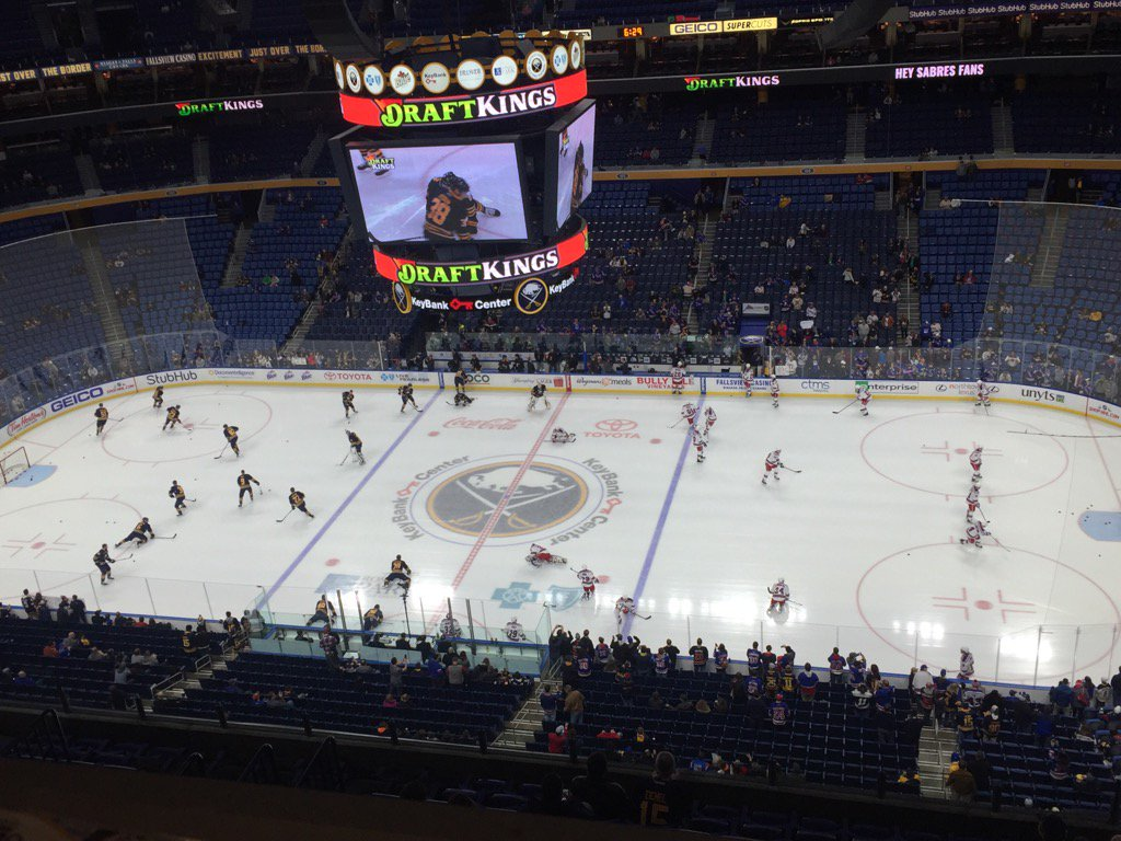 The Sabres host the Rangers tonight at KeyBank Center. (Mike Harrington/Buffalo News)