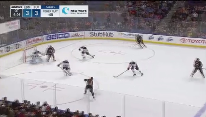 Video: Game highlights of Sabres' 4-3 OT win over Oilers