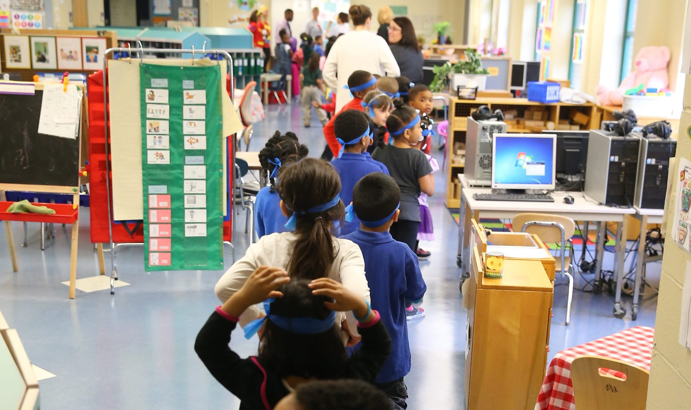 School kids are shortchanged when so many of their teachers are absent so many days.  (John Hickey/Buffalo News file photo)