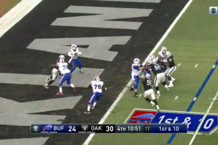 Video: Game highlights of Bills' 38-24 loss in Oakland