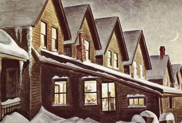 Torn-down Tuesday: Charles Burchfield's Buffalo, Part II