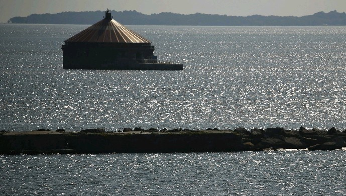 The current Buffalo water intake. (Derek Gee/News file photo)