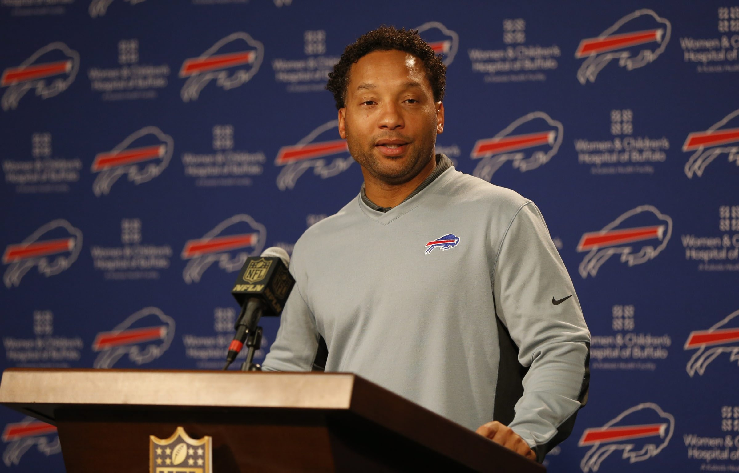 Former General Manager Doug Whaley's biggest decisions too often backfired for the Buffalo Bills. (Harry Scull Jr./Buffalo News)