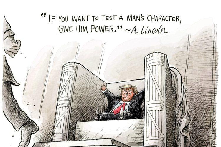Adam Zyglis: Seat of power