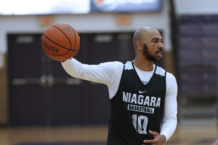 Back from L.A., Kahlil Dukes finds a home at Niagara