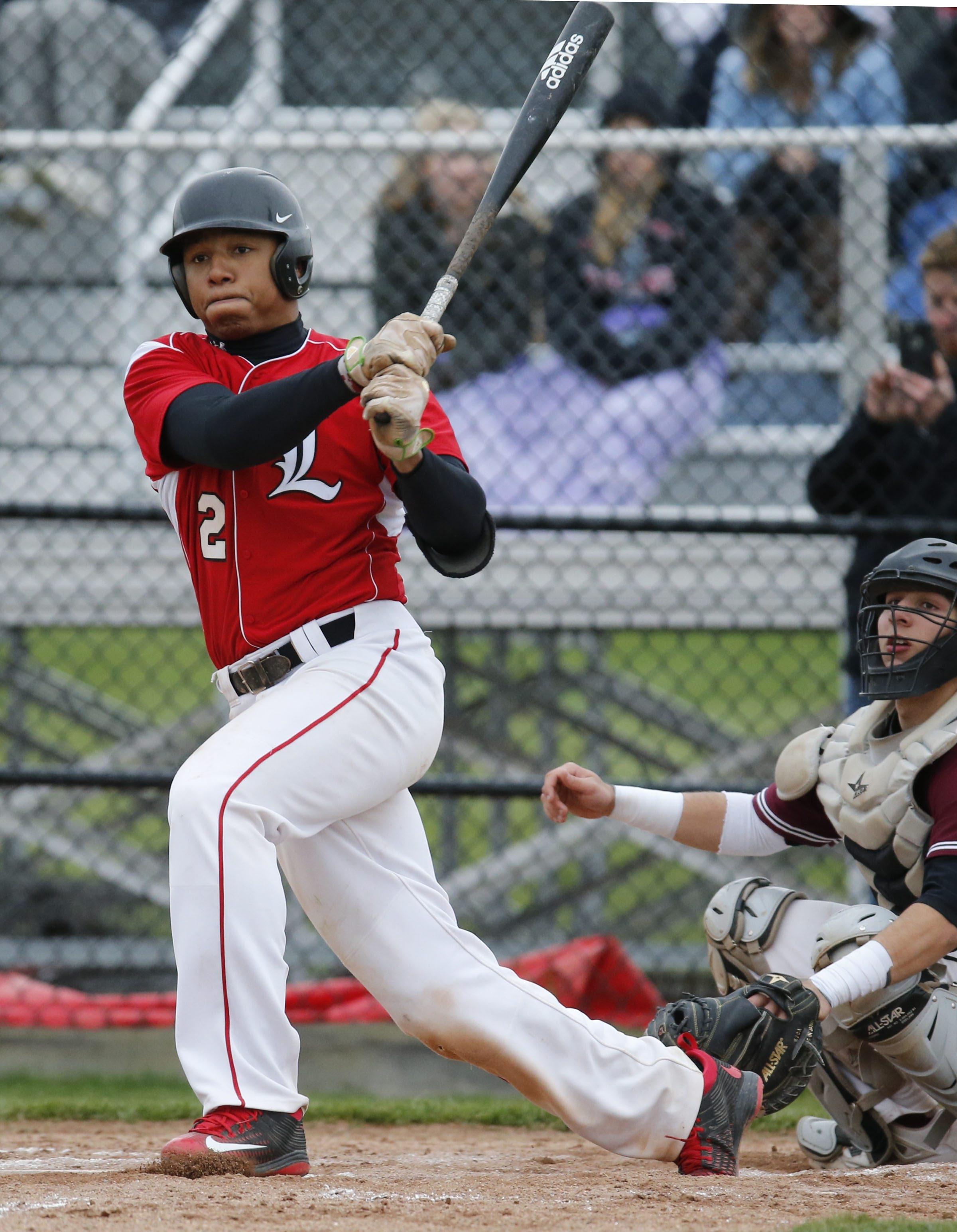 Lancaster outfielder Leugim Castillo has been selected by CBS MaxPreps as a preseason All-American in baseball. (James P. McCoy/Buffalo News file photo)