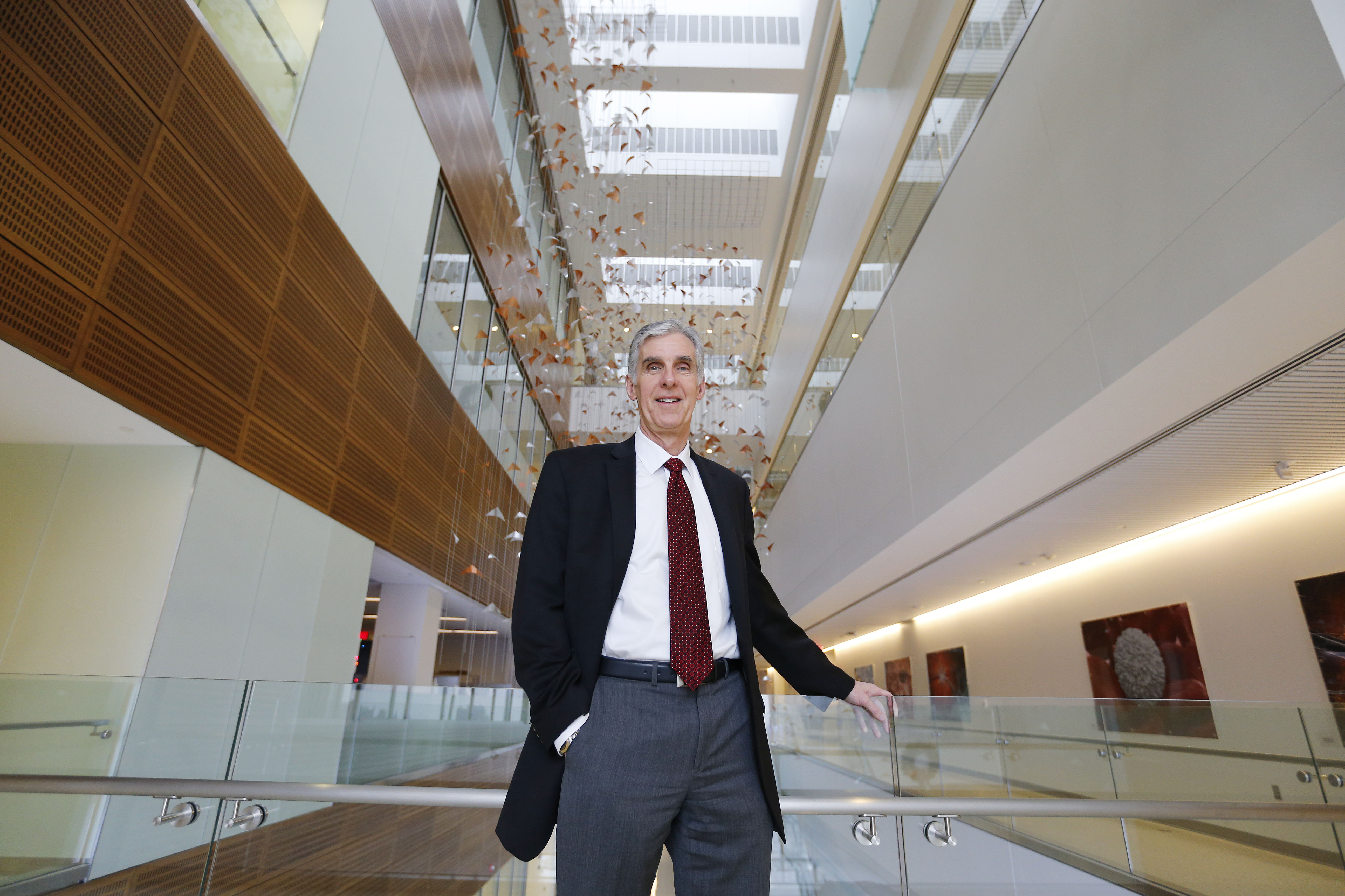 """Dr. Timothy Murphy, director of UB's Clinical and Translational Institute, says there is """"a lot of  expertise in Buffalo, but it is not coordinated."""" The center's goal is to enhance the quality of research locally. (Mark Mulville/Buffalo News)"""