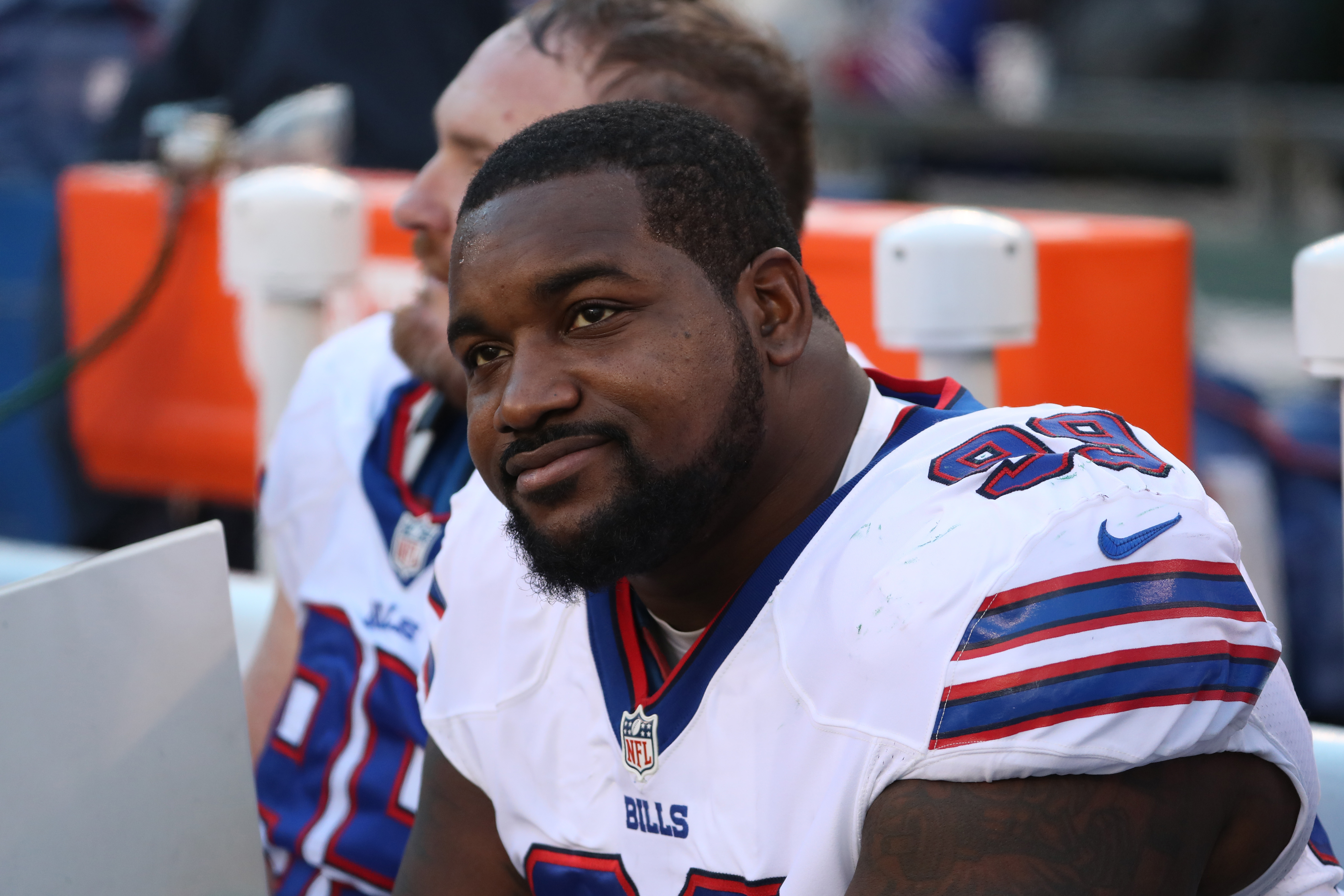 If the Bills are to exceed expectations in 2017, they'll need a big season from defensive tackle Marcell Dareus. (James P. McCoy/Buffalo News)