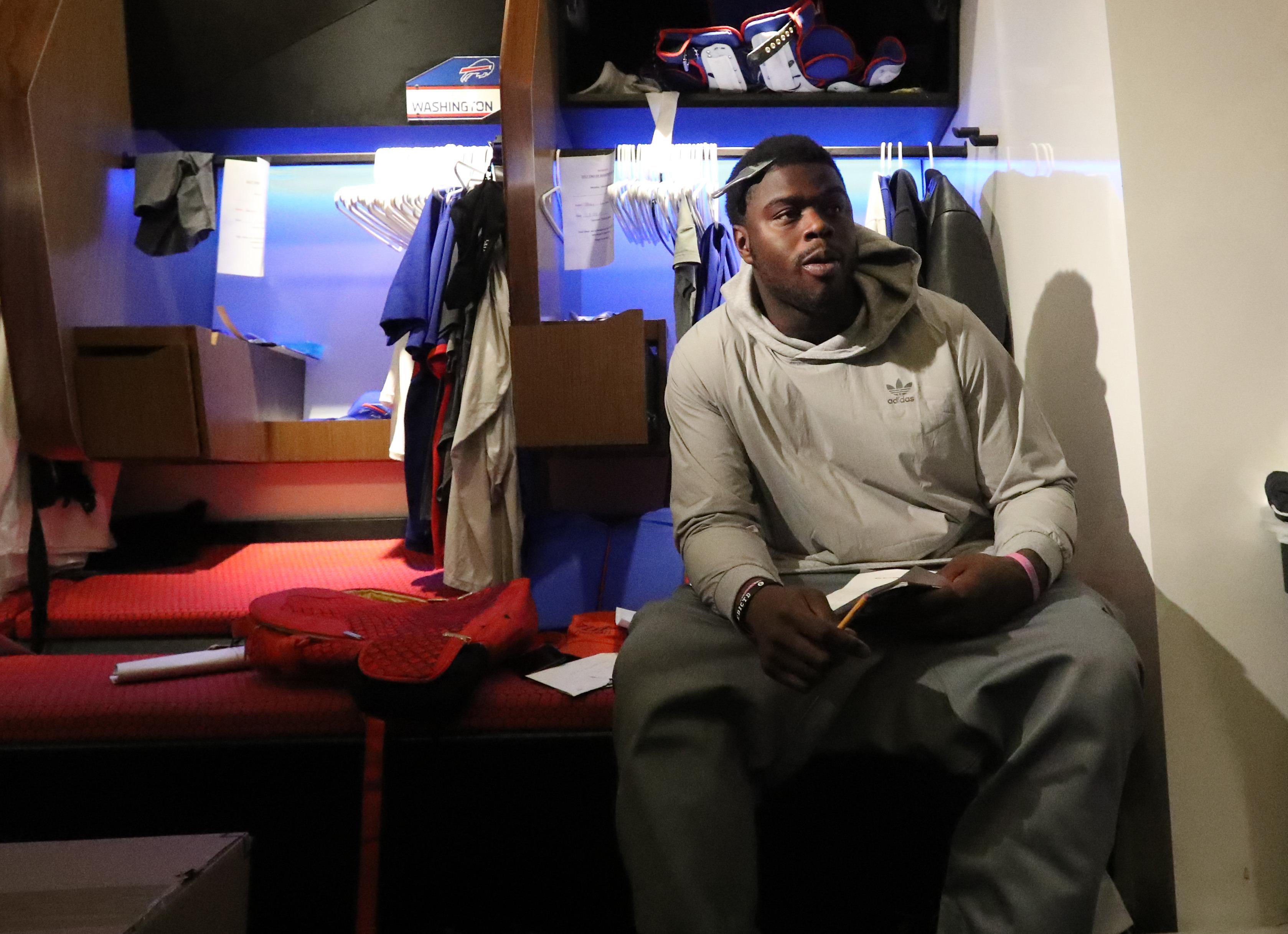 Shaq Lawson underwent arthroscopic knee surgery following the 2016 season. (James P. McCoy/Buffalo News)