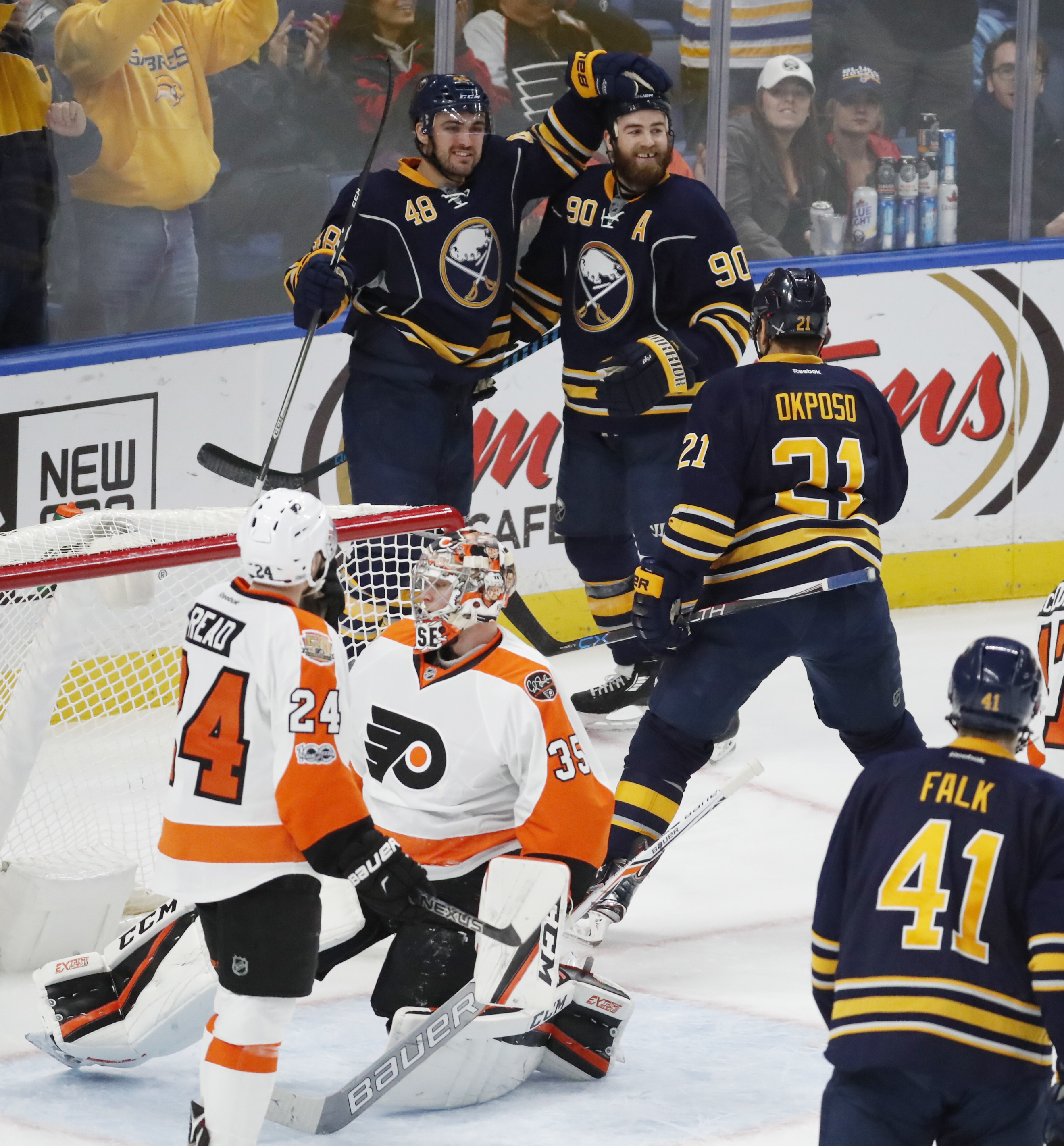 The Sabres look to run their win streak to three games. (Harry Scull Jr./Buffalo News)