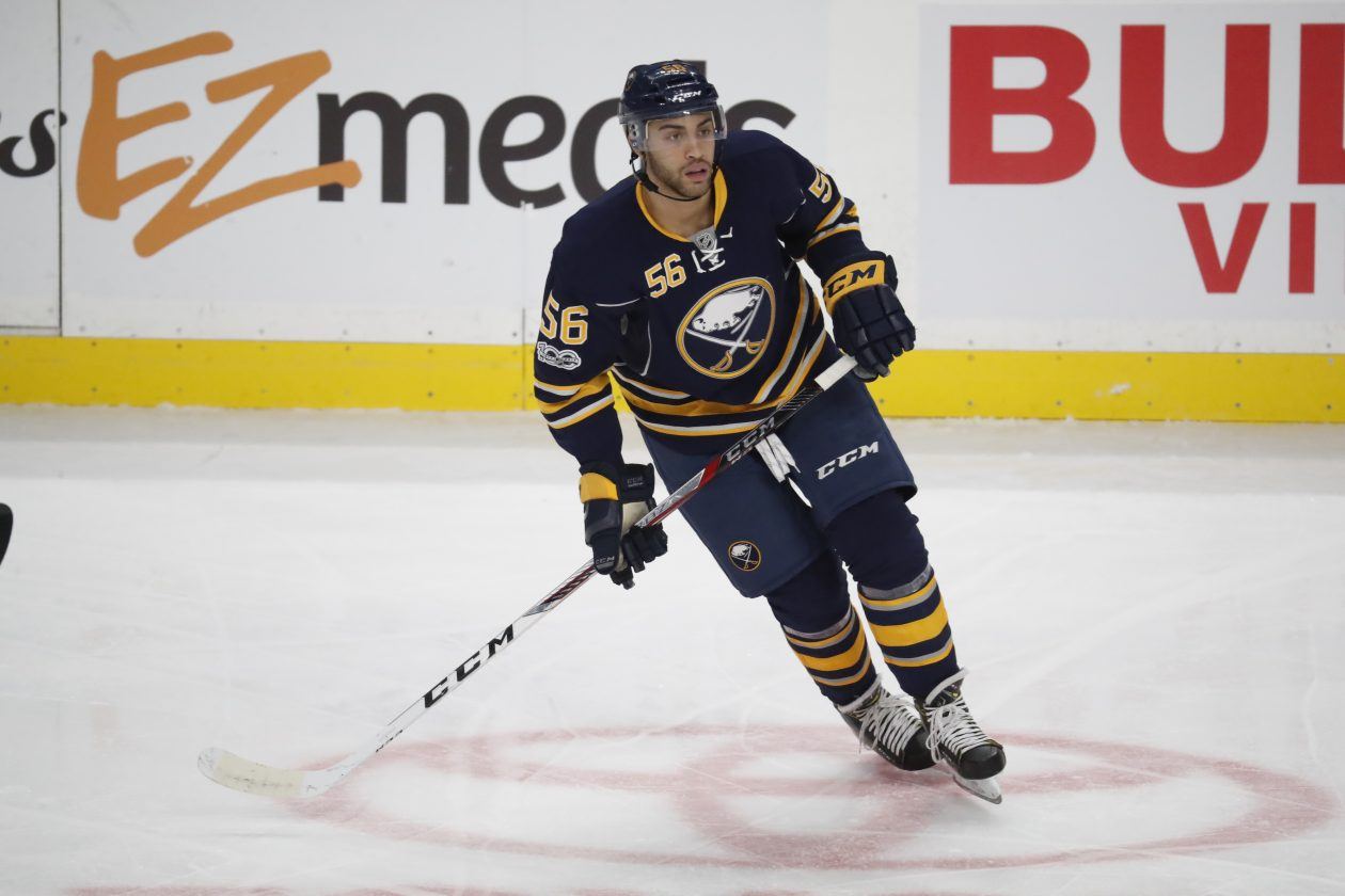 Justin Bailey gets a chance tonight on Jack Eichel's line.  (Harry Scull Jr./Buffalo News file photo)