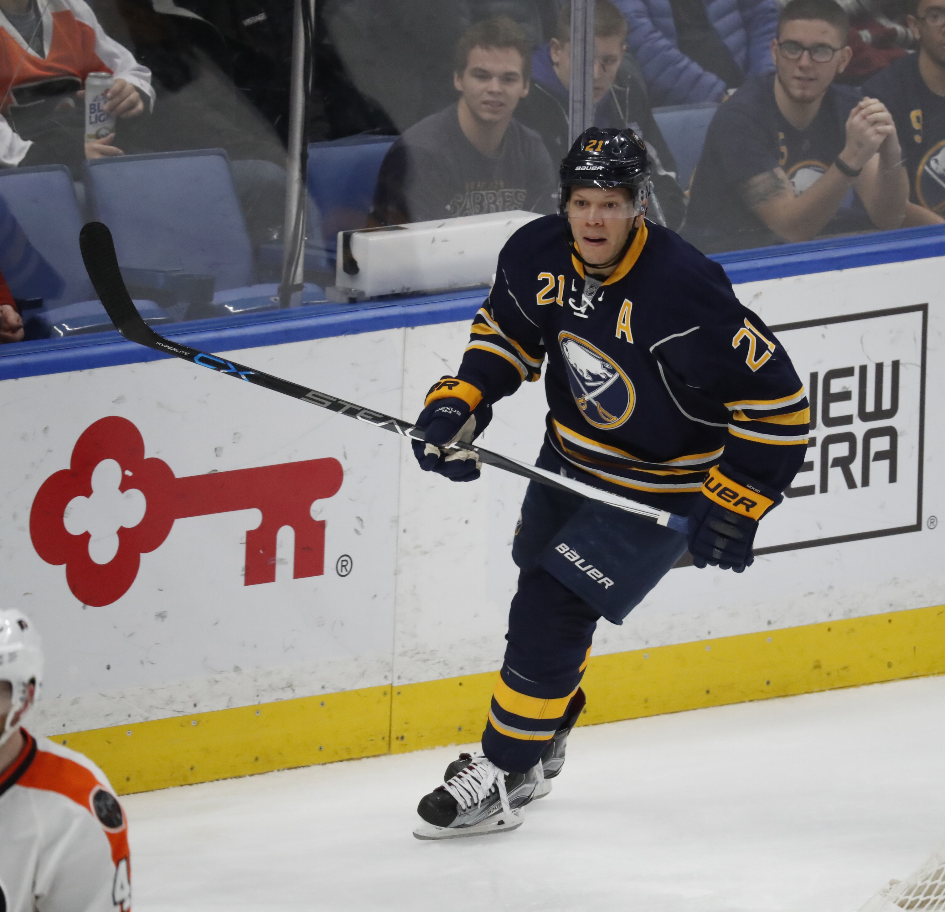 Kyle Okposo suffered his second concussion in the last two seasons. (Harry Scull Jr./Buffalo News file photo)