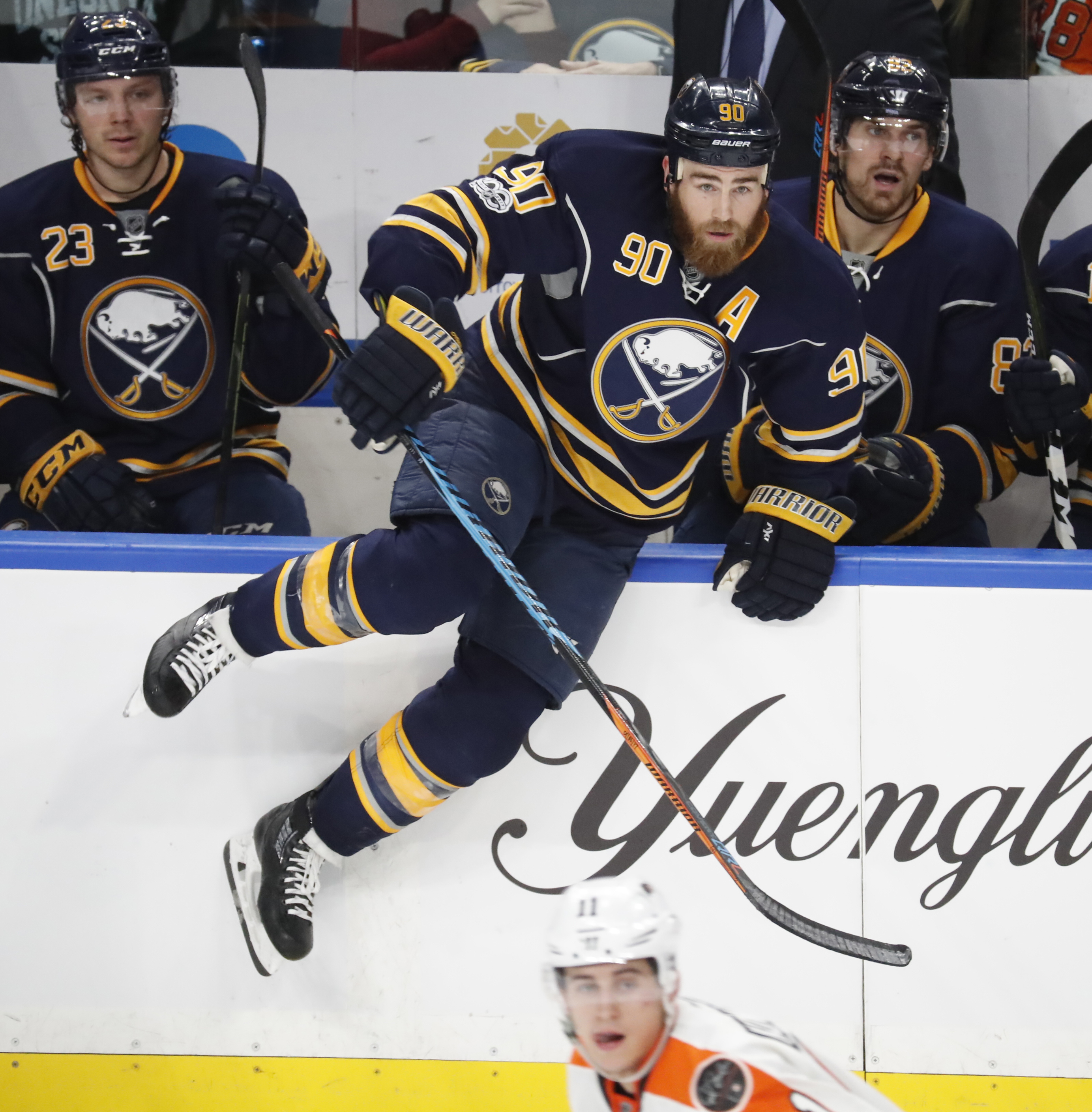 Sabres forward Ryan O'Reilly will also wear an 'A' for Canada. (Harry Scull Jr./Buffalo News)