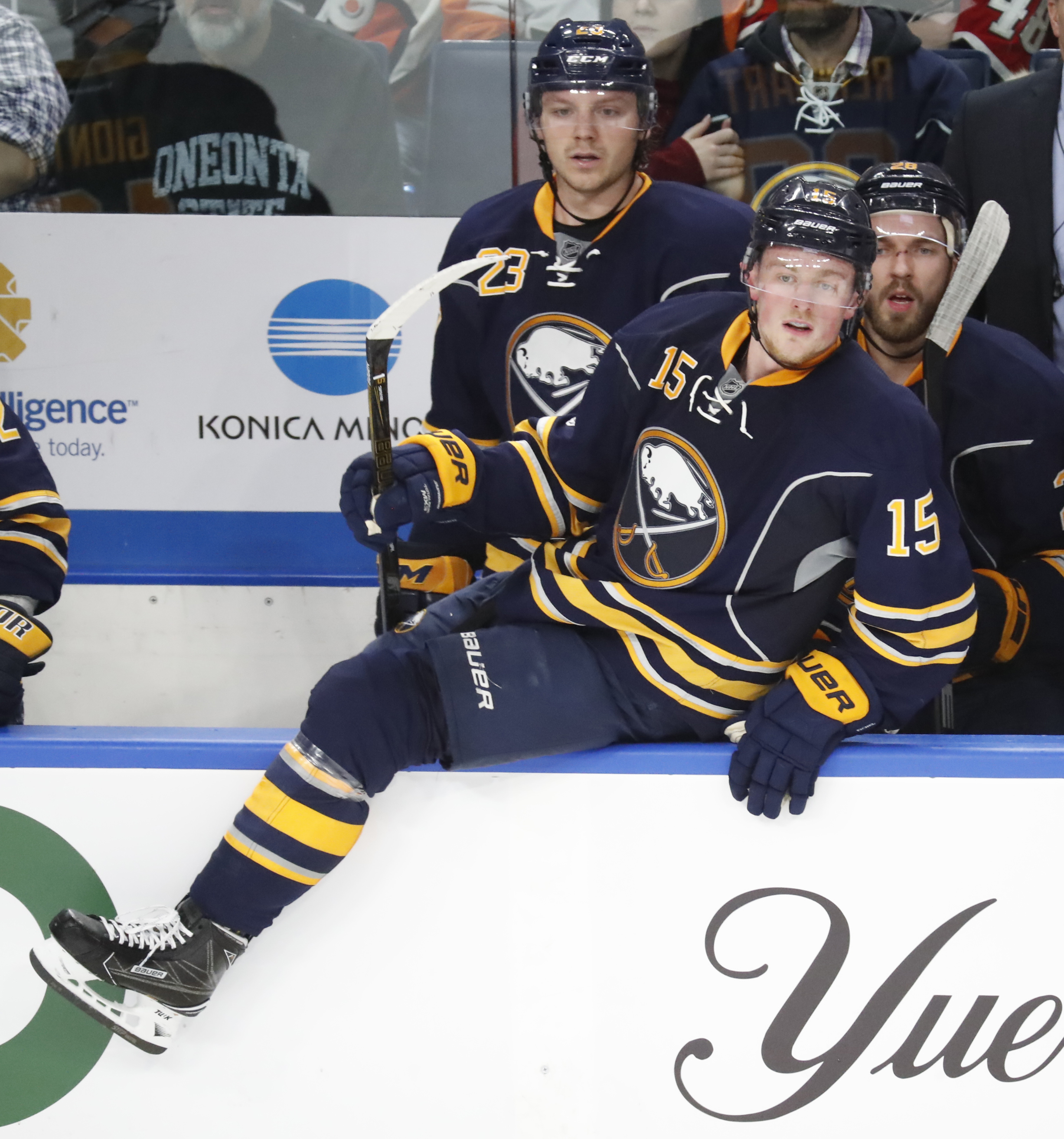 Jack Eichel feels coach Phil Housley's game plan fits his abilities. (Harry Scull Jr./Buffalo News file photo)