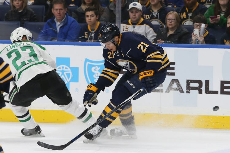 Sabres Notebook: Okposo's views from the stands productive – to a point