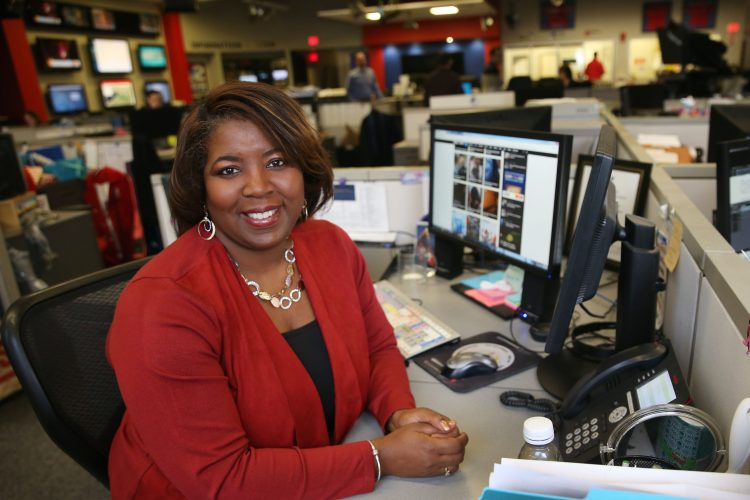 Claudine Ewing's journey from Grider Street to a career in broadcasting