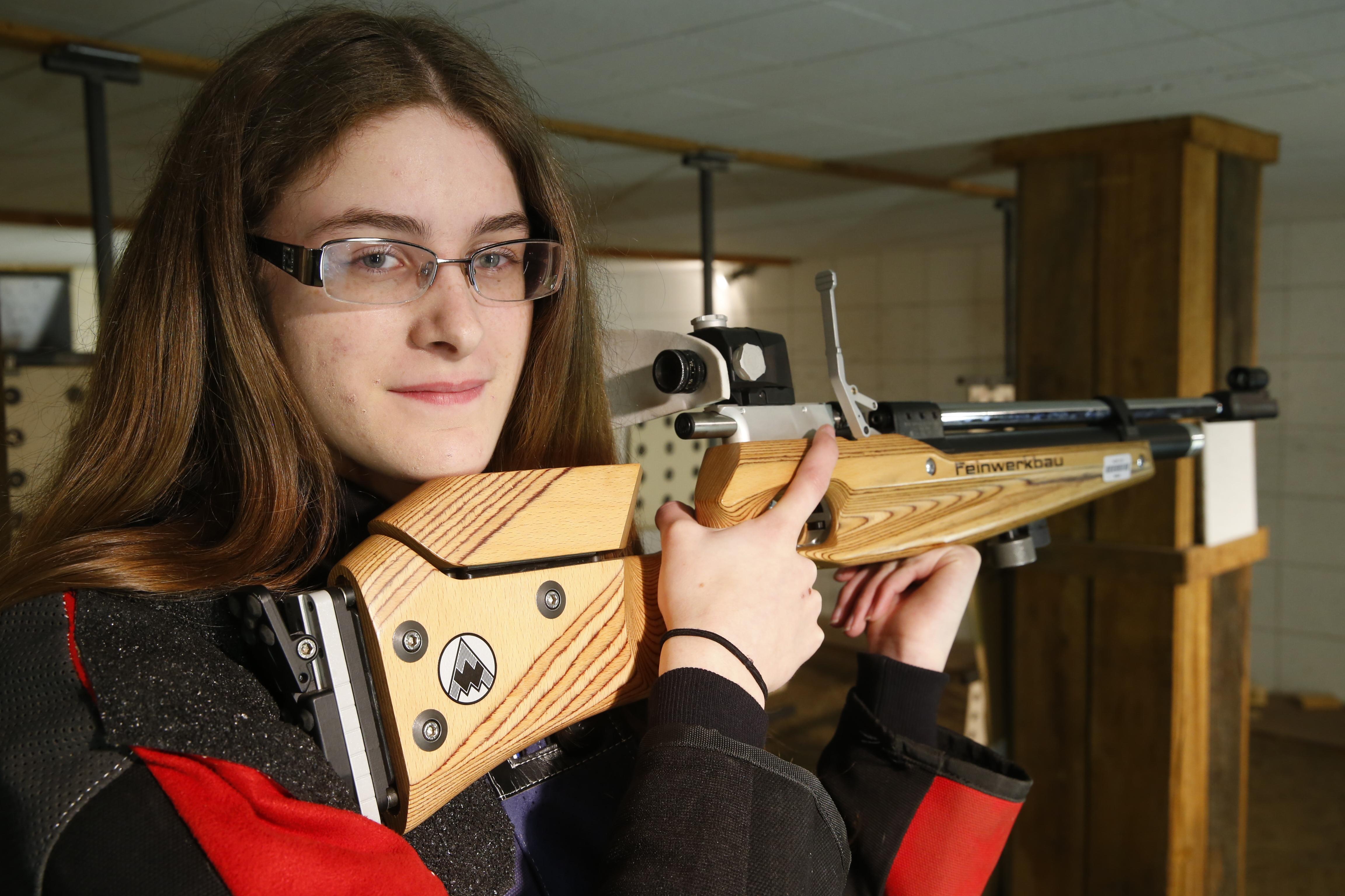 Emily Szymanski of Alden shot a 290 during a match last week. (Harry Scull Jr./Buffalo News)