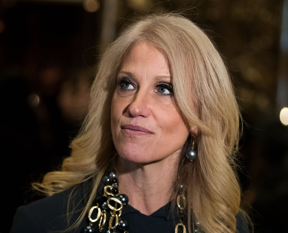 Kellyanne Conway appeared at a Trump fund raiser Thursday that raised around $1 million for costs of the Trump transition. (