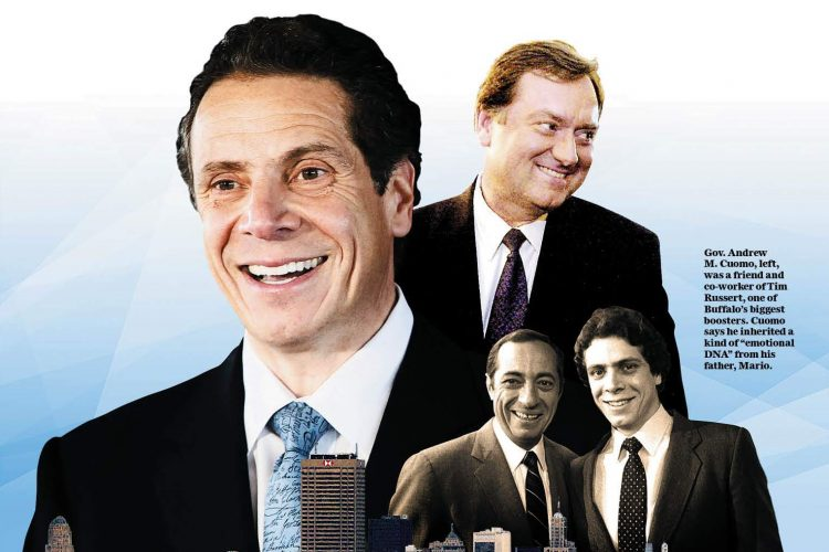 Cuomo on his father, Tim Russert and an affinity for Buffalo