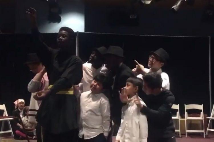 Watch refugee cast perform 'If I Were a Rich Man'