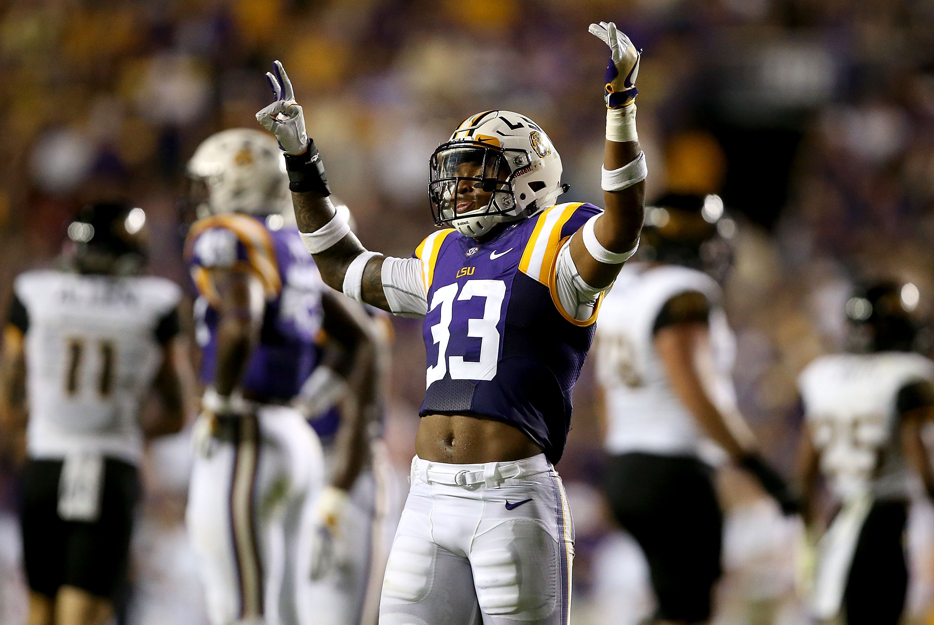LSU safety Jamal Adams is a consensus top-10 NFL Draft prospect. (Getty Images)