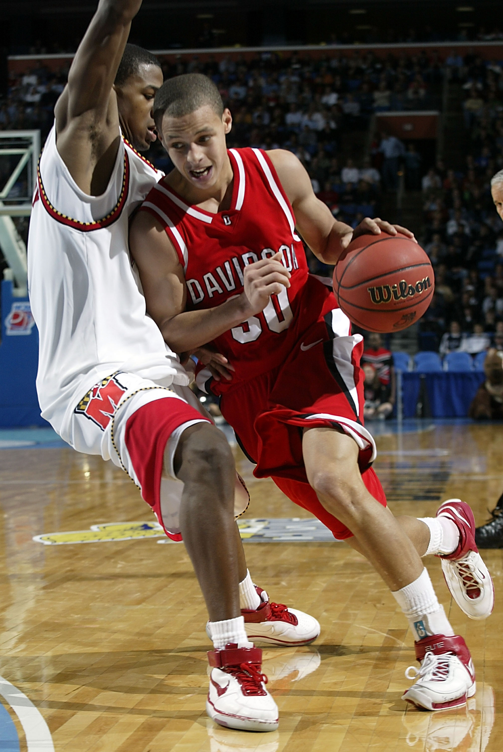Steph Curry at the 2007 NCAAs