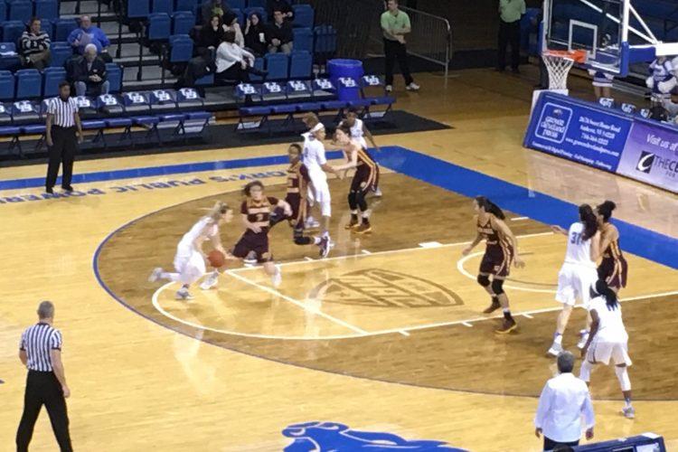 UB women use defensive masterpiece to win MAC showdown