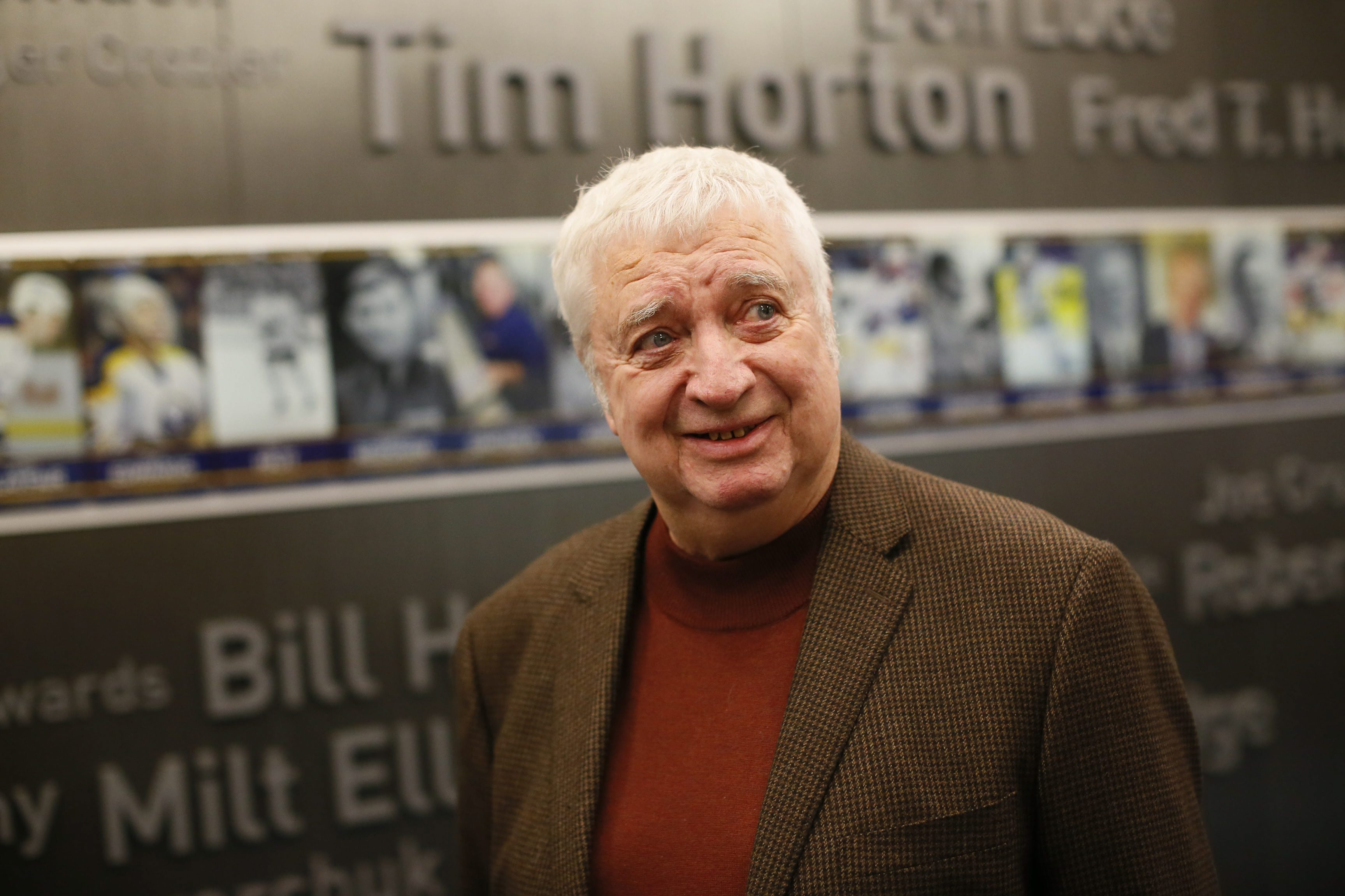 Fans can take home a talking Rick Jeanneret bobblehead for $30 or get an autographed one for $75. (Derek Gee/News file photo)