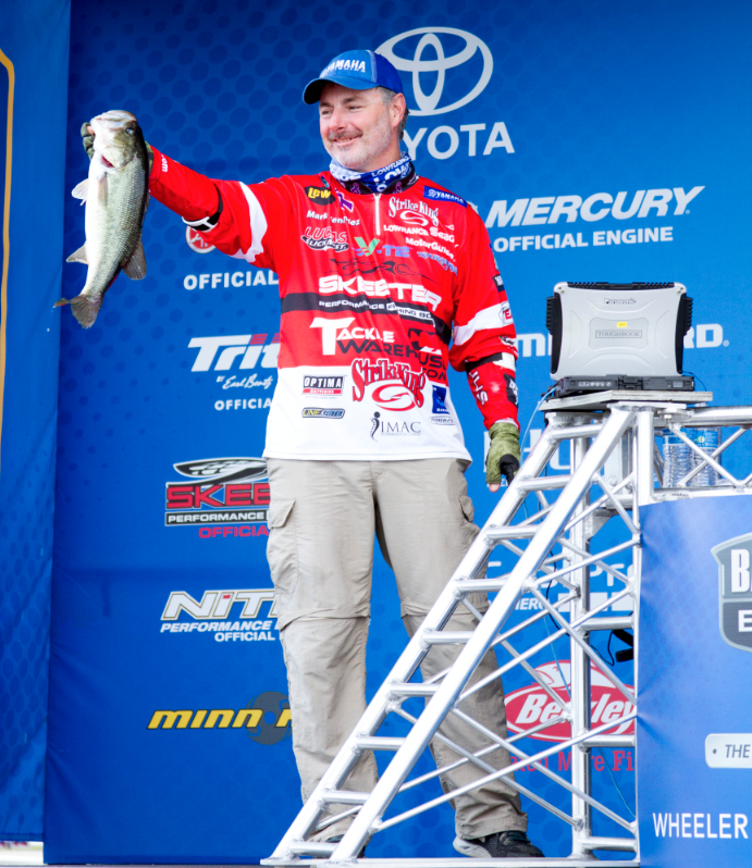 Bassmaster Elite pro Mark Menendez will give seminars at the Greater Niagara Fishing and Outdoor Expo on Jan. 20-22 at the Conference and Event Center Niagara Falls, N.Y. (Photo by Dan O'Sullivan)