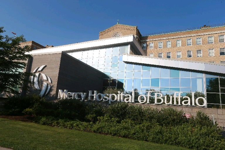 Catholic Health System plans to build a new MRI suite at Mercy Hospital on Abbott Road.  (Buffalo News file photo)