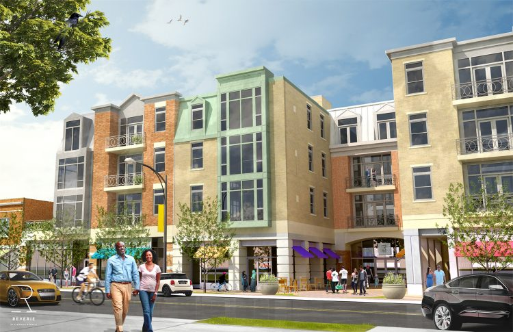 The Reverie portion of Ciminelli's proposed development in the Elmwood Village.